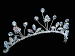 Lucy - Sparkly Crystal Wedding Tiara - Bespoke